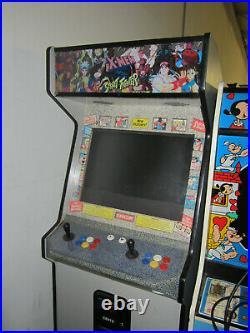 X-MEN vs STREET FIGHTER ARCADE MACHINE by CAPCOM 1996 (Excellent) RARE