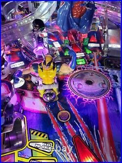 X-Men Pinball Machine Stern Limited Edition Magneto Excellent