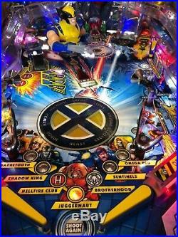 X-men Pro Pinball Machine by Stern