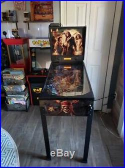 ZIZZLE Pirates of the Caribbean Dead Mans Chest Pinball Machine Super RARE