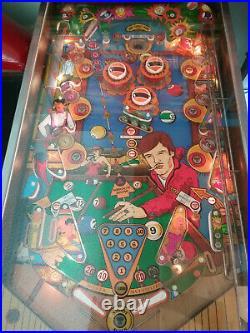 Zaccaria Pool Champion Pinball Machine Awesome