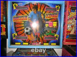 Zaccaria Soccer Kings Pinball Machine Awesome