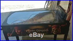 Zizzle Disney's Pirates of the Caribbean Pinball Machine RARE Arcade SEE DES